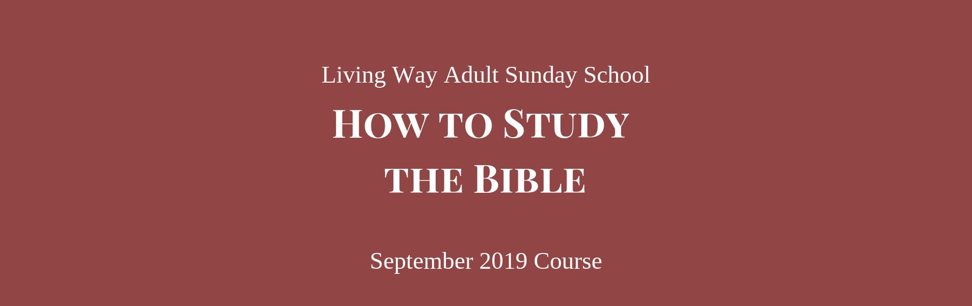 Living Way Church – Living Way Church