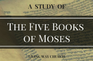 Five Books of Moses Sermon Graphic