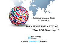 Say Among the Nations Mission Focus 2017